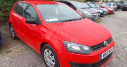 Volkswagen Polo 1.2 ( 70ps ) ( a/c ) 2010MY S, 3DR, H/B, RED, 41000 MILES ONLY, VERY CLEAN EXAMPLE