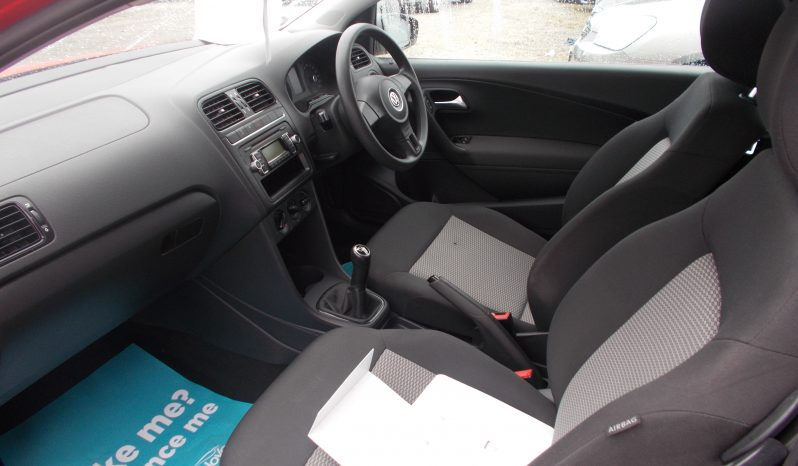 Volkswagen Polo 1.2 ( 70ps ) ( a/c ) 2010MY S, 3DR, H/B, RED, 41000 MILES ONLY, VERY CLEAN EXAMPLE full