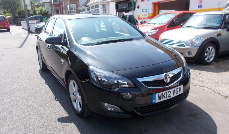Vauxhall/Opel Astra 1.6i VVT 16v ( 115ps ) 2012MY SRi, 5DR, H/B, BLACK MET, 41000 MILES ONLY, VERY CLEAN EXAMPLE full