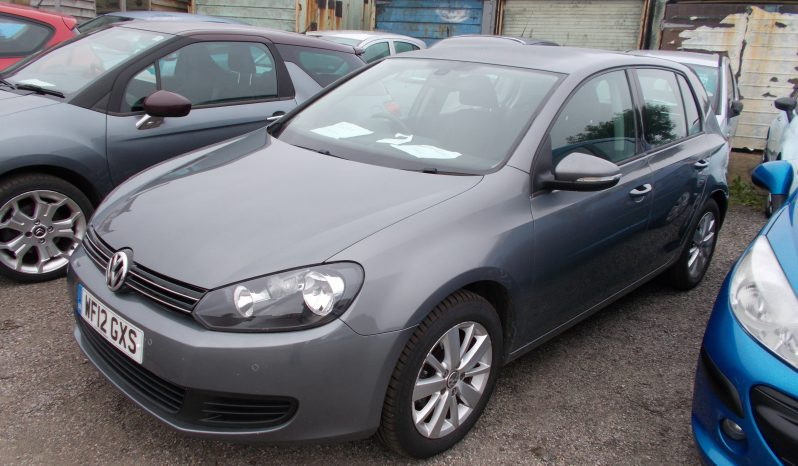 Volkswagen Golf 1.6TDI ( 105ps ) 2012MY Match, 5DR, H/B, GREY MET, LOW MILES, £30 ROAD TAX, VERY CLEAN EXAMPLE full