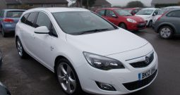 Vauxhall/Opel Astra 1.7CDTi 16v ( 125ps ) ecoFLEX 2012MY SRi, 5DR,H/B, WHITE MET, 62000 MILES ONLY, VERY CLEAN EXAMPLE