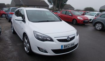 Vauxhall/Opel Astra 1.7CDTi 16v ( 125ps ) ecoFLEX 2012MY SRi, 5DR,H/B, WHITE MET, 62000 MILES ONLY, VERY CLEAN EXAMPLE full