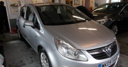 Vauxhall/Opel Corsa 1.3CDTi ( 75ps ) ecoFlex 2009MY Active, 5DR, H/B, SILVER MET, £30 ROAD TAX, VERY CLEAN EXAMPLE