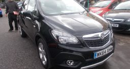 Vauxhall/Opel Mokka 1.7CDTi 16v ( 130ps ) ecoFLEX FWD ( s/s ) 2014MY Tech Line, 5DR, H/B, BLACK MET, 35000 MILES ONLY, £30 ROAD TAX, VERY CLEAN EXAMPLE