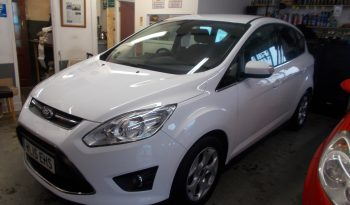 Ford C-MAX 1.6TDCi ( 115ps ) 2014MY Zetec, 5DRM, H/B, WHITE, CORNISH, 27000 MILES ONLY, £30 ROAD TAX, VERY CLEAN EXAMPLE full