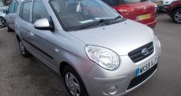 Kia Picanto 1.0 ( 60bhp ) 2010MY Picanto 1, 5DR, H/B, SILVER MET, 27000 MILES ONLY, £30 ROAD TAX, VERY CLEAN EXAMPLE