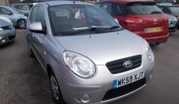 Kia Picanto 1.0 ( 60bhp ) 2010MY Picanto 1, 5DR, H/B, SILVER MET, 27000 MILES ONLY, £30 ROAD TAX, VERY CLEAN EXAMPLE full