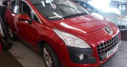 Peugeot 3008 Crossover 1.6 VTi ( 120bhp ) 2013MY Active, 5DR, H/B, RED MET, 35000 MILES ONLY, VERY CLEAN EXAMPLE