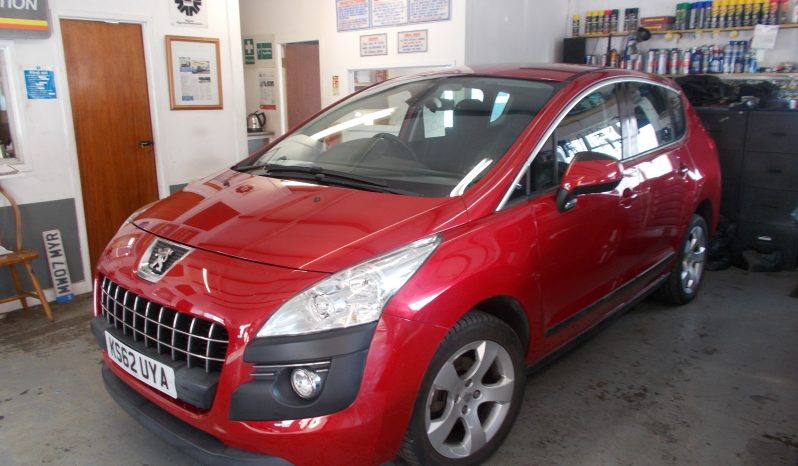 Peugeot 3008 Crossover 1.6 VTi ( 120bhp ) 2013MY Active, 5DR, H/B, RED MET, 35000 MILES ONLY, VERY CLEAN EXAMPLE full