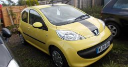 Peugeot 107 1.0 12v 2007MY Urban, 5DR, H/B, YELLOW, CORNISH, LOW MILES, VERY CLEAN EXAMPLE, £20 ROAD TAX
