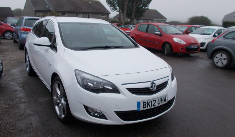Vauxhall/Opel Astra 1.7CDTi 16v ( 125ps ) ecoFLEX 2012.5MY SRi, 5DR, ESTATE, 62000 MILES ONLY, VERY CLEAN EXAMPLE full