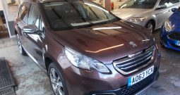 Peugeot 2008 Crossover 1.6e-HDi ( 92bhp ) ( s/s ) Feline Mistral Ambience, 5DR, H/B, BRONZE MET, 48000 MILES ONLY, £20 ROAD TAX, FULL LEATHER, PANORAMIC ROOF, VERY CLEAN EXAMPLE