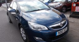 Vauxhall/Opel Astra 1.6 AUTO, 5DR, H/B, BLUE MET, 49000 MILES ONLY, VERY CLEAN EXAMPLE