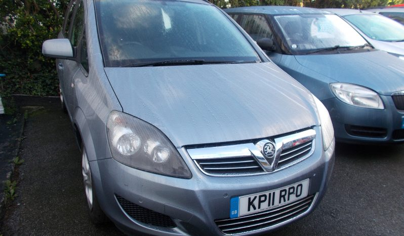 Vauxhall/Opel Zafira 1.6i 16v VVT ( 115ps ) 2011MY Exclusiv, 5DR, H/B, 7 SEATER, 65000 MILES ONLY, VERY CLEAN EXAMPLE full