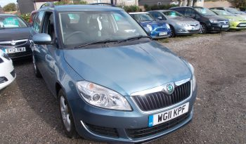 Skoda Fabia 1.4 TSI ( 86ps ) SE, 5DR, ESTATE, H/B, BLUE MET, VERY CLEAN EXAMPLE full