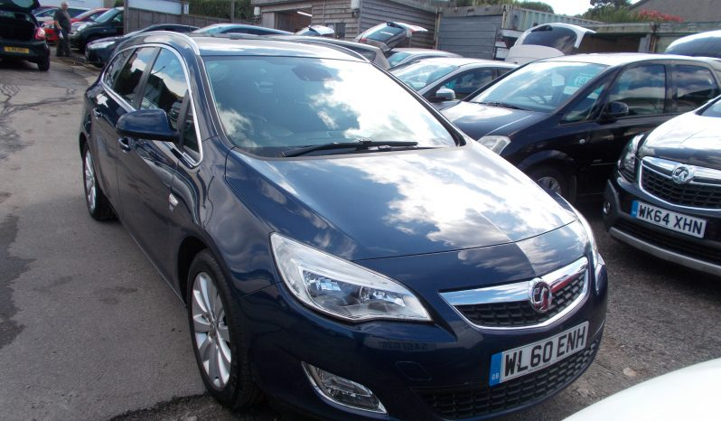 Vauxhall/Opel Astra 2.0TD ( 158bhp ) 2011MY SE, ESTATE, 5DR, H/B, BLUE MET, 33000 MILES ONLY, HALF LEATHER, VERY CLEAN EXAMPLE full