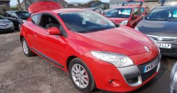 Renault Megane 1.5dCi ( 106bhp ) Expression, 3DR, H/B, RED, 42000 MILES ONLY, £30 ROAD TAX