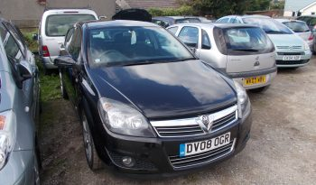 Vauxhall/Opel Astra 1.9CDTi 16v ( 150ps ) 2008MY SRi, 5DR, H/B, BLACK MET, LOW MILES, VERY CLEAN EXAMPLE full