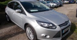 Ford Focus 1.6 TI-VCT ( 125ps ) 2011.25MY Zetec, 5DR, H/B, SILVER MET, 52000 MILES, VERY CLEAN EXAMPLE