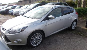 Ford Focus 1.6 TI-VCT ( 125ps ) 2011.25MY Zetec, 5DR, H/B, SILVER MET, 52000 MILES, VERY CLEAN EXAMPLE full