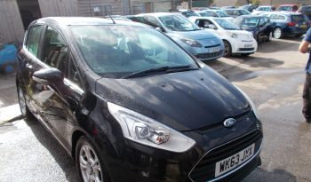 Ford B-Max 1.0T ( 100ps ) EcoBoost 2013.5MY Zetec, 5DR, H/B, BLACK MET, £30 ROAD TAX, VERY CLEAN EXAMPLE full