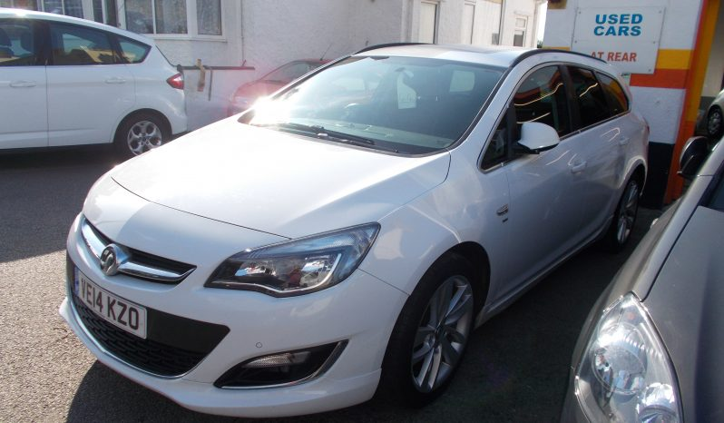 Vauxhall/Opel Astra 1.7CDTi 16v ( 130ps ) ecoFLEX ( s/s ) 2013MY SRi, 5DR, H/B, WHITE, £30 ROAD TAX, VERY CLEAN EXAMPLE full