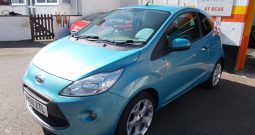 Ford Ka 1.3TDCi 2010.5MY Titanium, 3DR, H/B, BLUE MET, 59000 MILES ONLY, £30 ROAD TAX, VERY CLEAN EXAMPLE