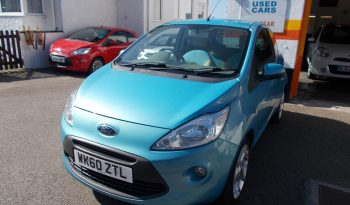 Ford Ka 1.3TDCi 2010.5MY Titanium, 3DR, H/B, BLUE MET, 59000 MILES ONLY, £30 ROAD TAX, VERY CLEAN EXAMPLE full