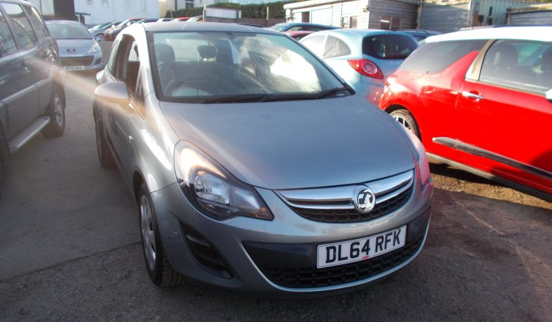 Vauxhall/Opel Corsa 1.2i 16v ( 85ps ) ( a/c ) 2014MY Design, 3DR, H/B, SILVER MET, 49000 MILES ONLY, VERY CLEAN EXAMPLE full