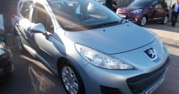 Peugeot 207 SW 1.6HDI 90 ( a/c ) S, 5DR, H/B, BLUE MET, LOW MILES, £30 ROAD TAX, VERY CLEAN EXAMPLE