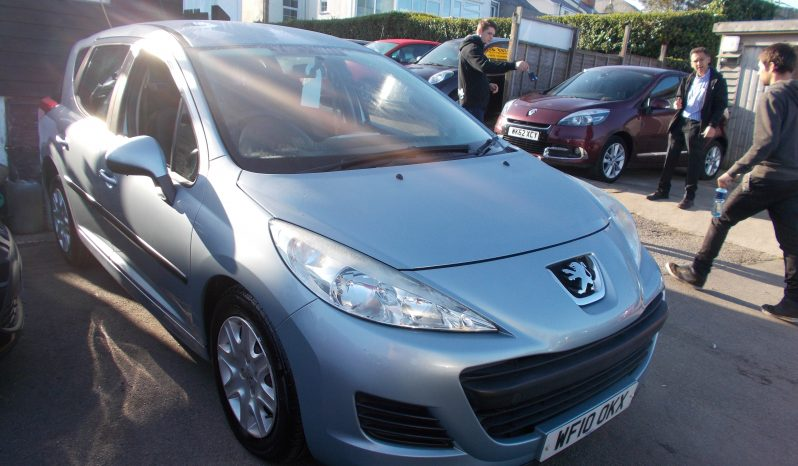 Peugeot 207 SW 1.6HDI 90 ( a/c ) S, 5DR, H/B, BLUE MET, LOW MILES, £30 ROAD TAX, VERY CLEAN EXAMPLE full