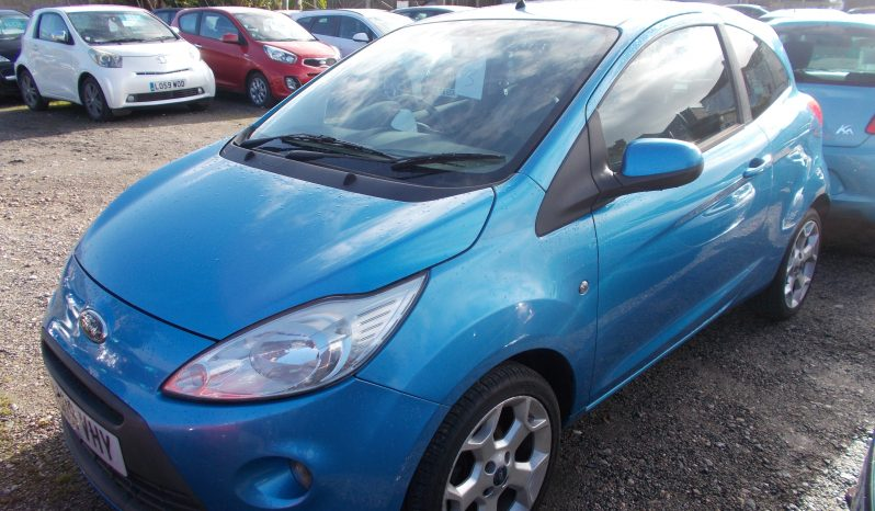 Ford Ka 1.2 2009MY Zetec, 3DR, H/B, BLUE MET, 47000 MILES ONLY, VERY CLEAN EXAMPLE, £30 ROAD TAX full