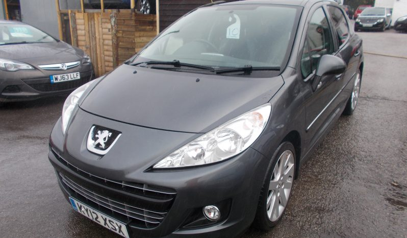 Peugeot 207 1.6HDi 112 Allure, 5DR, H/B, GREY MET, LOW MILES, VERY CLEAN EXAMPLE, £30 ROAD TAX, HALF LEATHER full