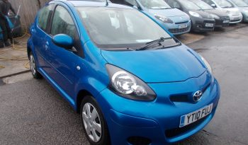 Toyota AYGO 1.0 VVT-i 2009MY AYGO Blue, 5DR, H/B, BLUE MET, 62000 MILES ONLY, £20 ROAD TAX, VERY CLEAN EXAMPLE full