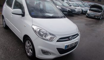Hyundai i10 1.2 ( 85bhp ) 2011MY Active, 5DR, H/B, WHITE, LOW MILES, £20 ROAD TAX, VERY CLEAN EXAMPLE full