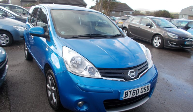Nissan Note 1.4 16v 2011MY N-TEC, 5DR, H/B, BLUE MET, VERY CLEAN EXAMPLE full