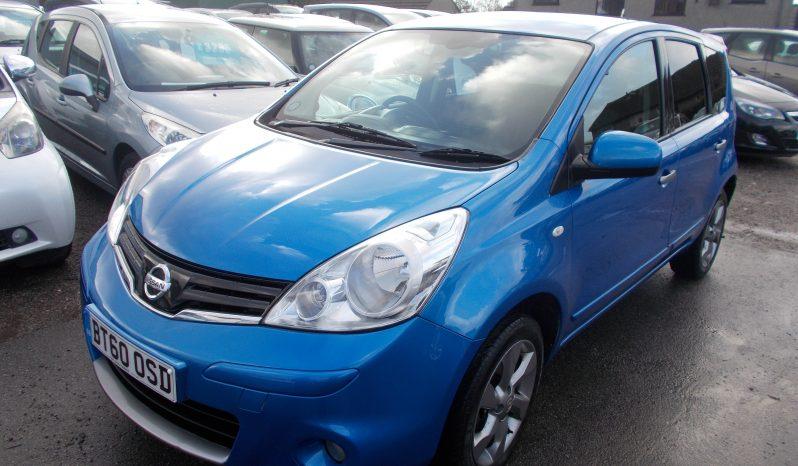 Nissan Note 1.4 16v 2011MY N-TEC, 5DR, H/B, BLUE MET, VERY CLEAN EXAMPLE full