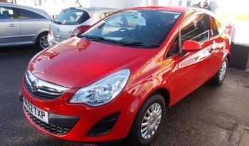 Vauxhall/Opel Corsa 1.0i 12v ( 65ps ) ecoFLEX 2012.5MY Expression, 3DR, H/B, RED, 16000 MILES ONLY, £30 ROAD TAX, VERY CLEAN EXAMPLE full