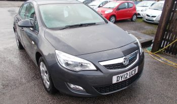 Vauxhall/Opel Astra 1.6i VVT 16v ( 115ps ) auto 2012.5MY Exclusiv, 5DR, H/B, GREY MET 49000 MILES ONLY, VERY CLEAN EXAMPLE full