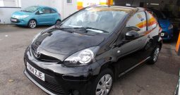 Toyota AYGO 1.0 ( 67bhp ) 2013MY Move, 3DR, H/B, BLACK MET, 40000 MILES ONLY, £0 ROAD TAX, VERY CLEAN EXAMPLE
