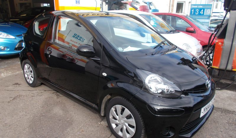 Toyota AYGO 1.0 ( 67bhp ) 2013MY Move, 3DR, H/B, BLACK MET, 40000 MILES ONLY, £0 ROAD TAX, VERY CLEAN EXAMPLE full