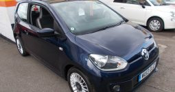 Volkswagen up! 1.0 ( 75ps ) BlueMotion Tech 2013MY High Up, 3DR, H/B, BLUE MET, LOW MILES, £0 ROAD TAX, VERY CLEAN EXAMPLE