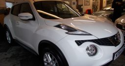Nissan Juke 1.2 DIG-T ( 115ps ) ( s/s ) 2014MY Acenta, 5DR, H/B, WHITE, 32000 MILES ONLY, VERY CLEAN EXAMPLE