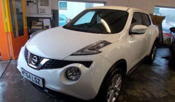 Nissan Juke 1.2 DIG-T ( 115ps ) ( s/s ) 2014MY Acenta, 5DR, H/B, WHITE, 32000 MILES ONLY, VERY CLEAN EXAMPLE full