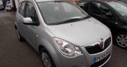 Vauxhall/Opel Agila 1.3CDTi 16v ecoFLEX 2010MY Club, 5DR, H/B, SILVER MET, LOW MILES, £30 ROAD TAX