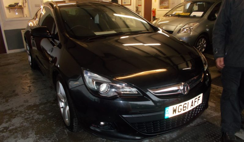 Vauxhall/Opel Astra GTC 1.6i 16v Turbo 2012MY SRi, 3DR, H/B, BLACK MET, LOW MILES, VERY CLEAN EXAMPLE full