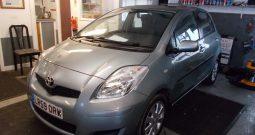 Toyota Yaris 1.33 ( 99bhp ) MMT 2009MY TR, 5DR, H/B, GREY MET, LOW MILES, AUTO, VERY CLEAN EXAMPLE, £30 ROAD TAX