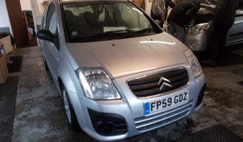 Citroen C2 1.4HDi 8V ( 70bhp ) VTR, 3DR, H/B, SILVER MET, LOW MILES, £30 ROAD TAX, VERY CLEAN EXAMPLE full