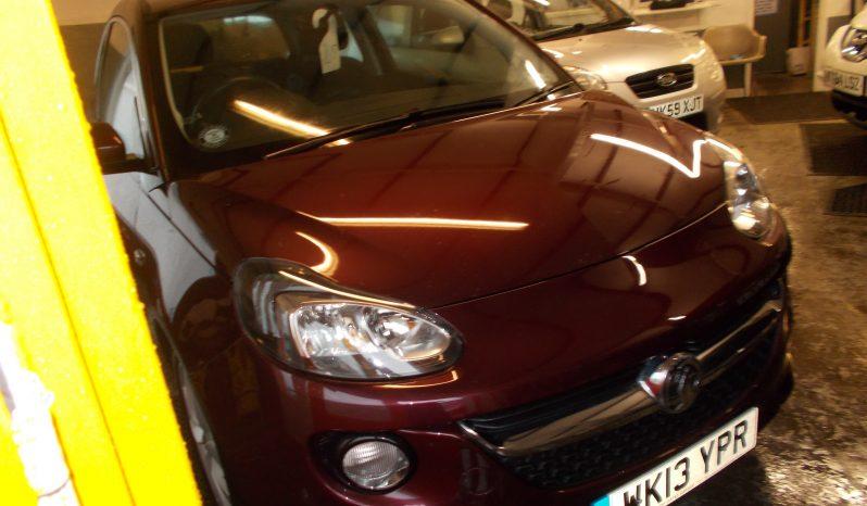 Vauxhall/Opel ADAM 1.4 VVT 16v ( 87ps ) JAM, 3DR, H/B, PURPLE MET, LOW MILES, VERY CLEAN EXAMPLE full