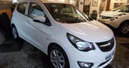 Vauxhall/Opel Viva 1.0i ( 75ps ) 2017MY SE, 5DR, H/B, WHITE, 14000 MILES ONLY, £20 ROAD TAX, VERY CLEAN EXAMPLE